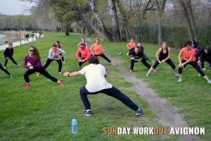 Sunday Workout Avignon 11 fitness circuit training hiit tabata sport coach sportif