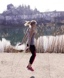 Sunday Workout Avignon 8 coach fitness battlerope cardio training crossfit cross training sport