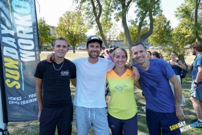 Aktiv Avignon Salsa Pills et Jeune Danseurs Avignonnais au Sunday Workout