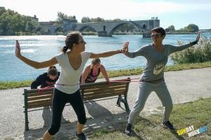corssfit fitness yoga avignon barthelasse sunday workout